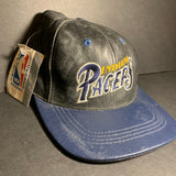 Vintage Indiana Pacers Leather Snapback