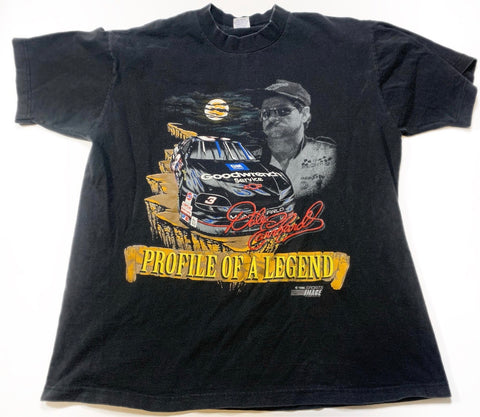 1995 Dale Earnhardt Profile Of a Legend Winston Tshirt Sz XL