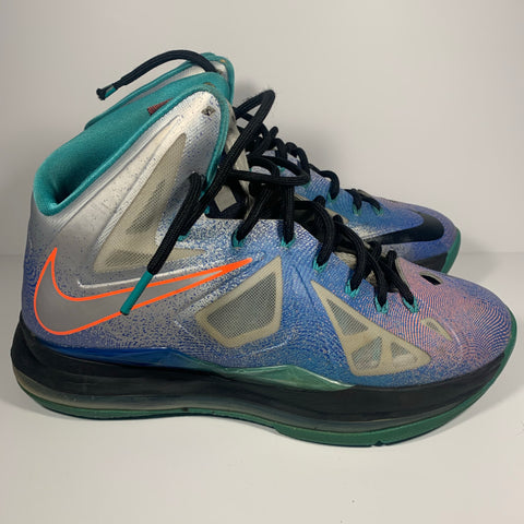 Used Nike LeBron X Re-Entry Sz 8.5