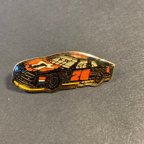 Vintage Kenny Irwin 28 Car Pin