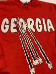 Vintage Georgia Bulldogs sweater size large/medium