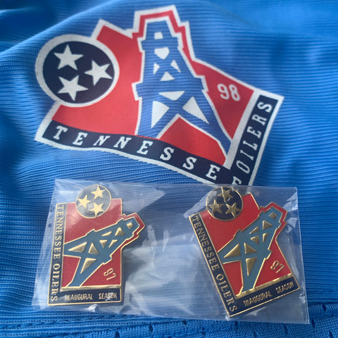 1997 Tennessee Oilers Hat Pin