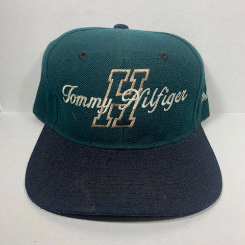 Vintage Boot Tommy Hilfiger Spellout Snapback