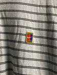 Vintage Striped Nike Collared tee size Large