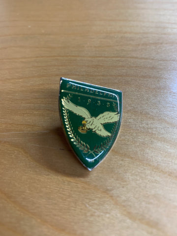 Vintage Philadelphia Eagles Plate Pin