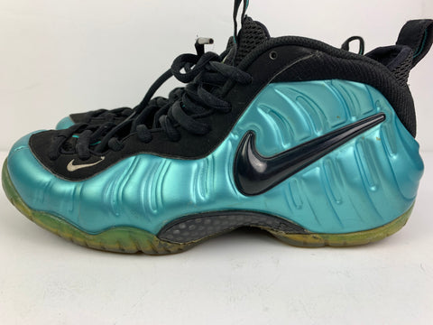 Preowned Air Foamposite Pro 'Electric Blue' Sz 11