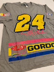 Vintage Jeff Gordon Nascar Double Sided Tee size xl