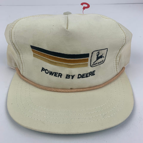 Vintage John Deere Power By Strapback