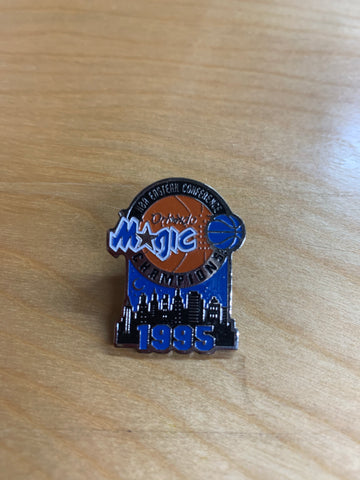 Vintage 1995 Eastern Champs Orlando Magic Pin