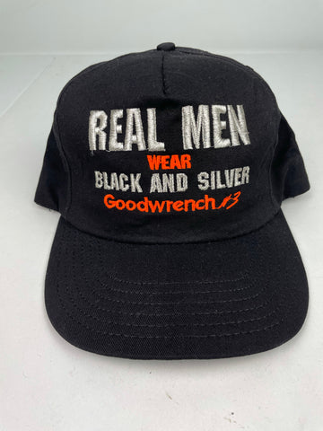 VTG Goodwrench Black and Silver Snapback