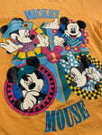 Vintage Yellow Mickey Mouse tee size medium