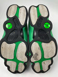 Preowned Air Jordan 13 Retro 'Lucky Green' Sz 10.5