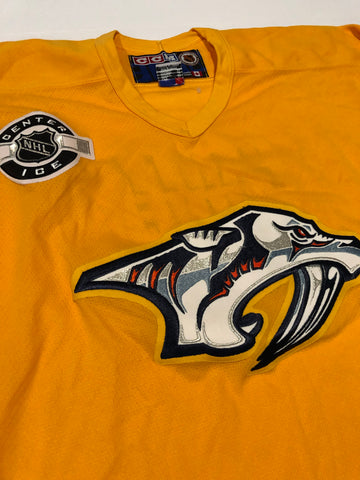 Vintage Nashville Predators Part Zone CCM Jersey size xl