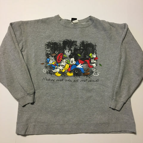 Vintage Mickey & Co About Sweater Sz L
