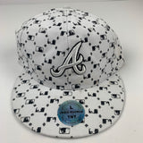 2000s Bootleg Atlanta Braves Fitted Sz 7 1/4