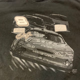 Dale Earnhardt JR. Budweiser patch tshirt Sz XL