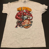 Vintage Chicago Bulls Record Graphic Tshirt Sz XS