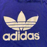 Vintage 80s 50/50 Adidas Double Sided Tshirt sz Large