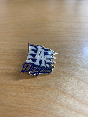 LA Dodgers Flags Pin
