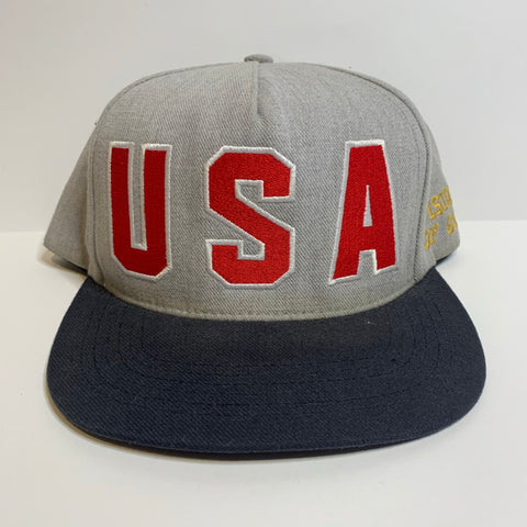 Supreme SS12 USA 5 Panel Hat