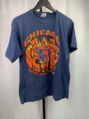 Vintage Chicago Bears 3d Graphic Tshirt Sz S