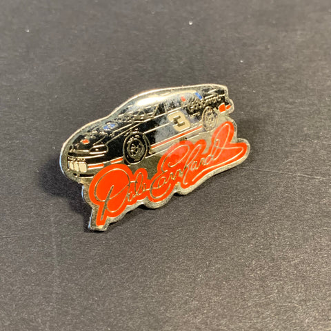 Vintage Dale Earnhardt Black Car Pin