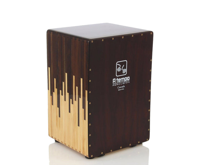 A Tempo Percussion Cascada Tunable Cajon W/ Bag