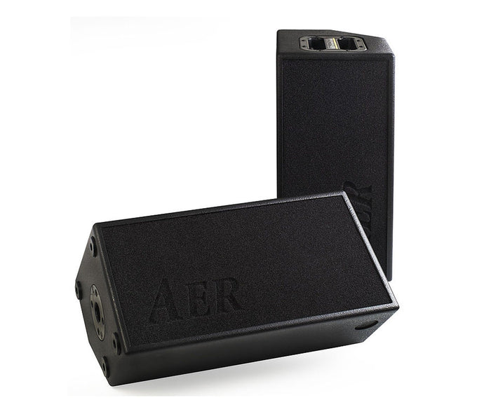 AER AS281/4 100W 2-way Active PA Loud Speaker/Monitor