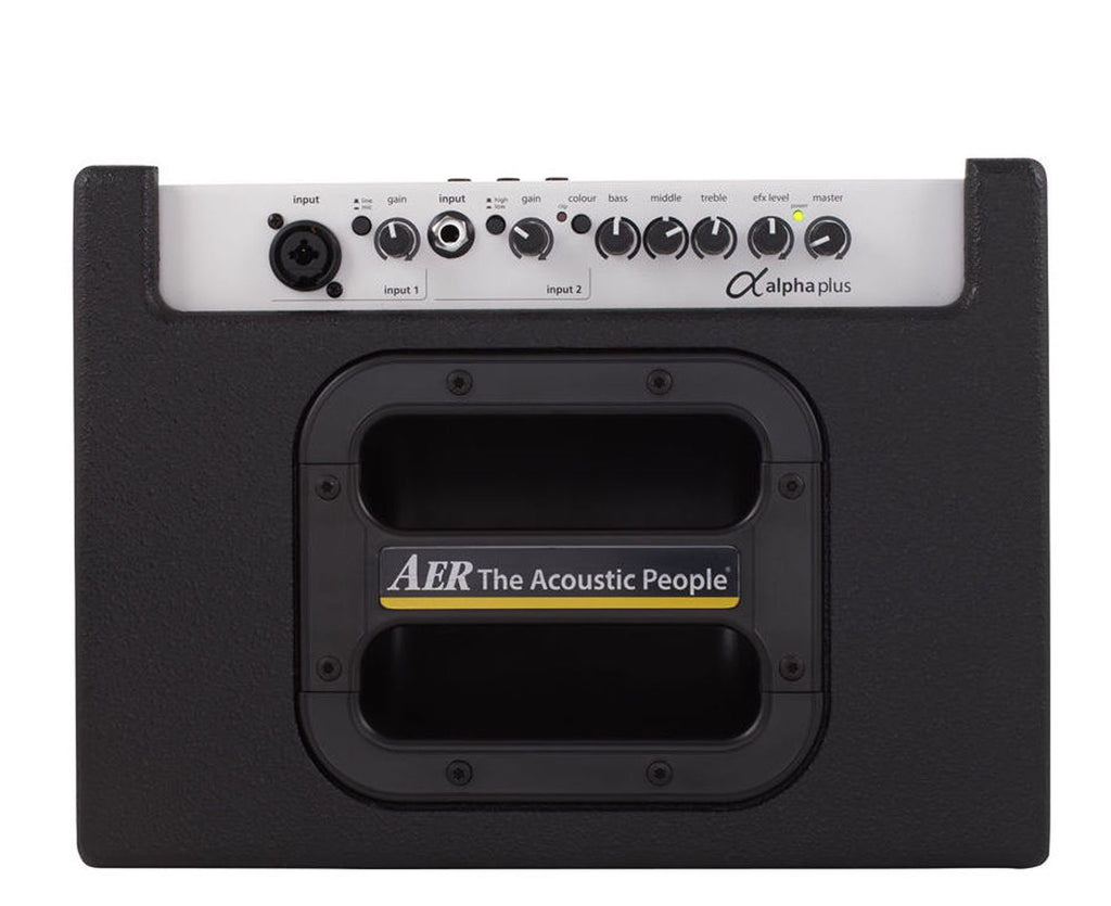 AER Alpha Plus 50W Single Channel Acoustic 1x8 Combo Amp - Megatone Music