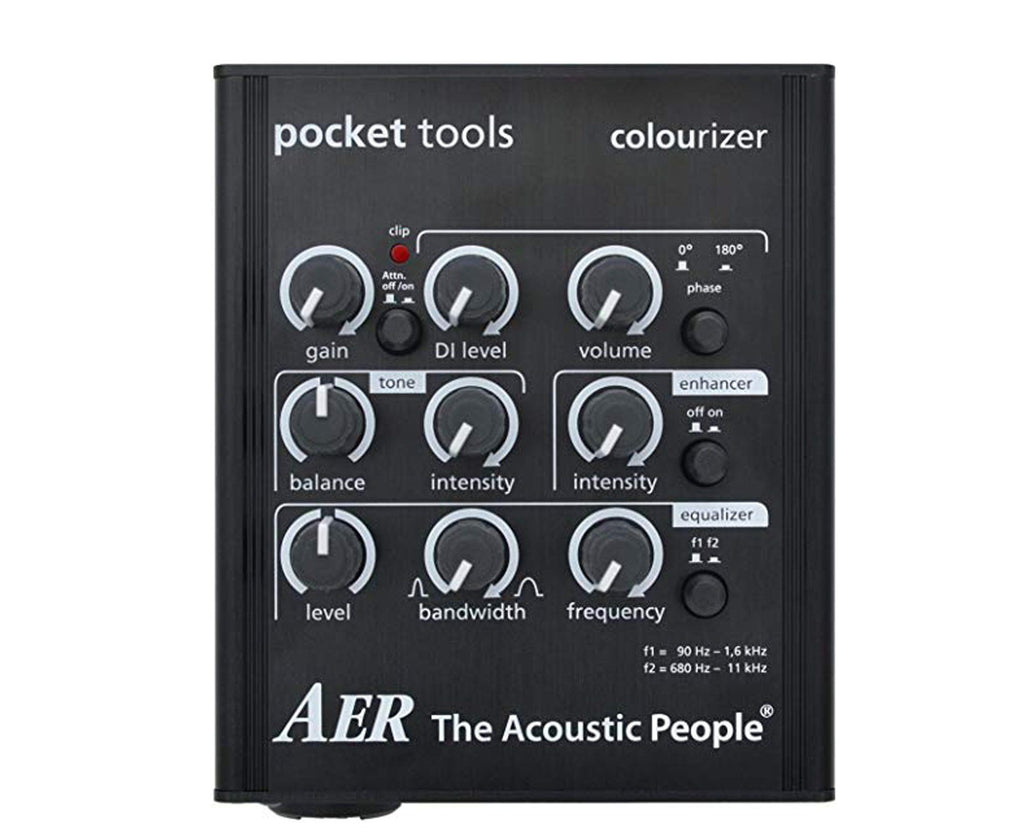 AER Colourizer-2 Acoustic Guitar Direct Box and Preamp - Megatone Music