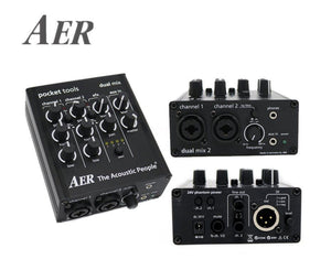 AER Dual-Mix 2 Acoustic Guitar Direct Box and Preamp - Megatone Music