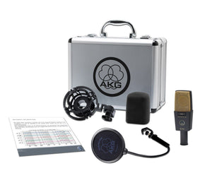 AKG C414 XII Large-Diaphragm Studio Condenser Microphone Microphones AKG