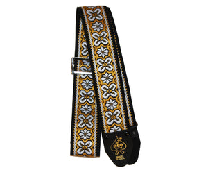 Ace Vintage Reissue Greenwich Guitar Strap by D'Andrea - Made in the USA - Megatone Music