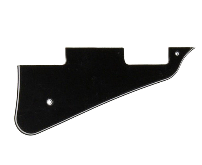 Allparts Black 3-Ply Les Paul Custom Pickguard
