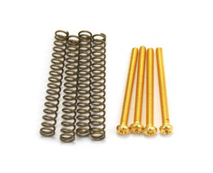 Allparts Pack of 4 Gold Humbucking Screws - Megatone Music