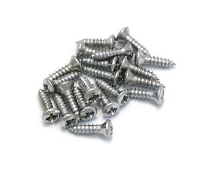 Allparts PACK OF 20 STAINLESS PICKGUARD SCREWS