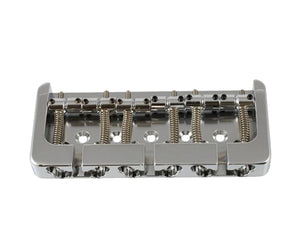 Hipshot 6-String Bass Bridge, Chrome Parts Hipshot