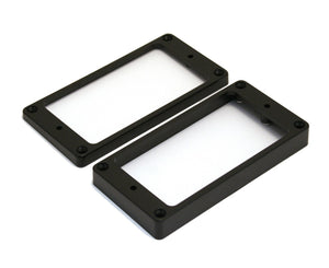 Allparts PC-0745-023 Humbucking Pickup Rings Non-slanted Black Pickup Rings Allparts