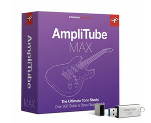 IK Multimedia AmpliTube MAX Upgrade Music Software IK Multimedia