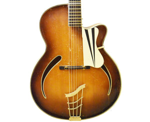Arnold Hoyer Archtop Jazz Hollowbody Guitar 1954