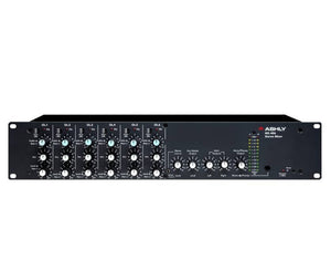 Ashly Audio MX-406 Stereo Microphone Line Mixer with EQ - Megatone Music