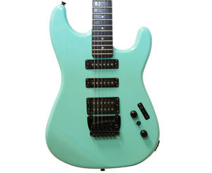 BC Rich ST-111 Platinum Series 80's Electric Guitar in Aqua Blue - Megatone Music