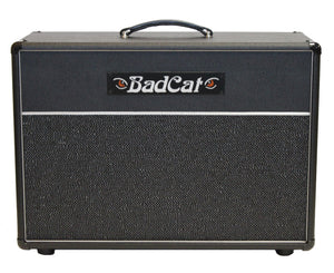 Bad Cat Amps USA Standard Speaker Cab 2x12 in Black Bronco