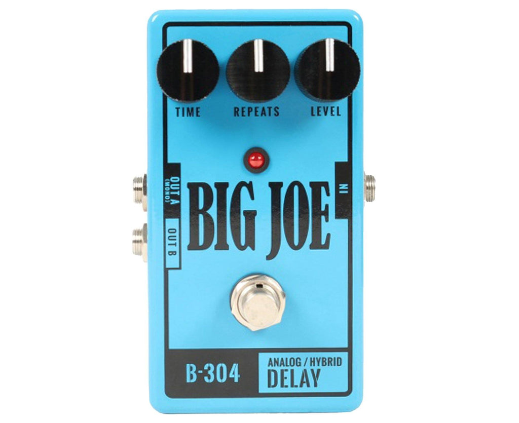 Big Joe Stomp Box Co B-304 Analog Delay Effects Pedal - Megatone Music