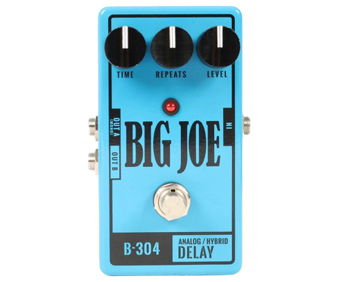 Big Joe Stomp Box Co B-304 Analog Delay Effects Pedal