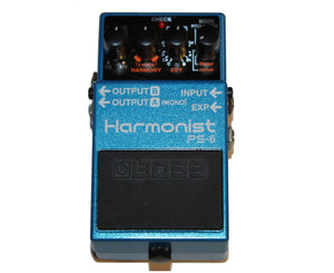Boss PS-6 Harmonist Pitch Shifter Guitar Effects Pedal - Megatone Music