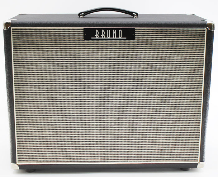 "Tony Bruno 2x12"" Half Open Back Cab with Celestion G12 Alnico Blues"
