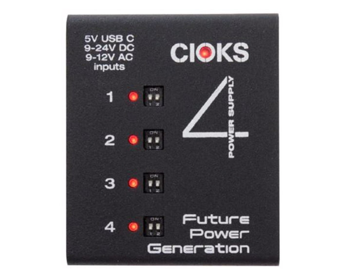 CIOKS C4e Extendable Power Supply with 4 Isolated Outlets