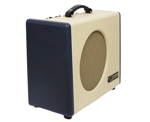 "Carr Mercury V 16W 1x12"" Combo Amp in Blue and Cream - Megatone Music"