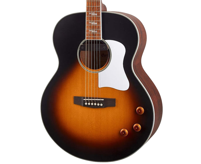 Cort CJ Retro Acoustic-Electric Guitar in Matte Vintage Sunburst